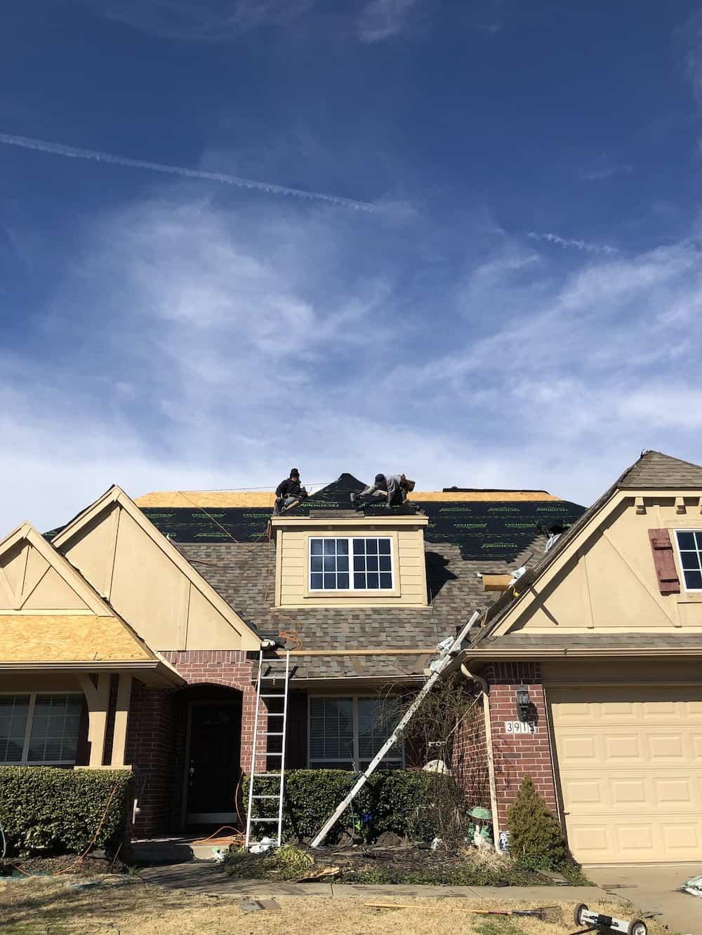 Broken Arrow Residential Roof Repair
